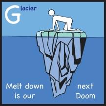 sticker glacier