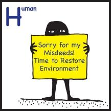 sticker Human