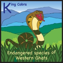 sticker king cobra