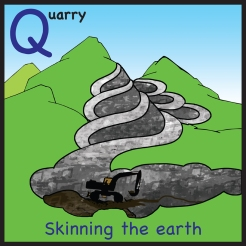 sticker quarry