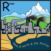 sticker river