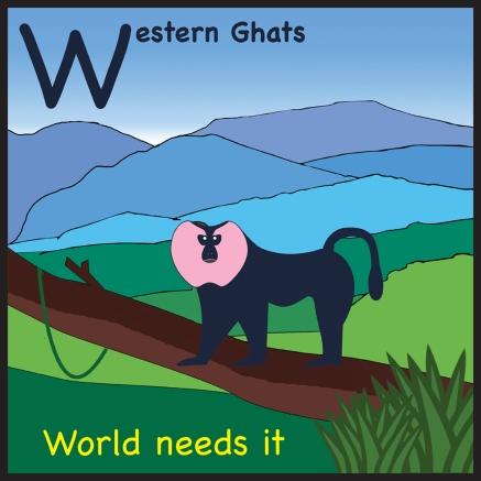 sticker Western Ghats