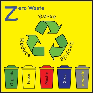 sticker zeero waste